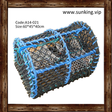 A14-021 Best Quality Folding 100% Polyester Crab Lobster Pot Fishing Trap Net