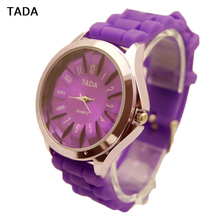 Flower Designer Face TADA Brand Women's Quartz Watches Silicone Strap Hot Sales Promotion Watches Fashion Lady watches