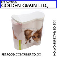 organization family pet food container