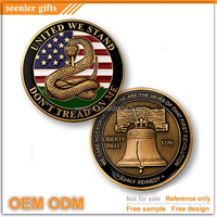 any rush order available customized 3D logo antique gold silver bronze plating custom souvenir coin