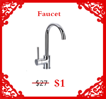 Modern New Kitchen Sink Faucet Design