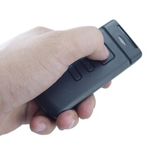 hot black bluetooth CCD smallest barcode scanner with two AA battery