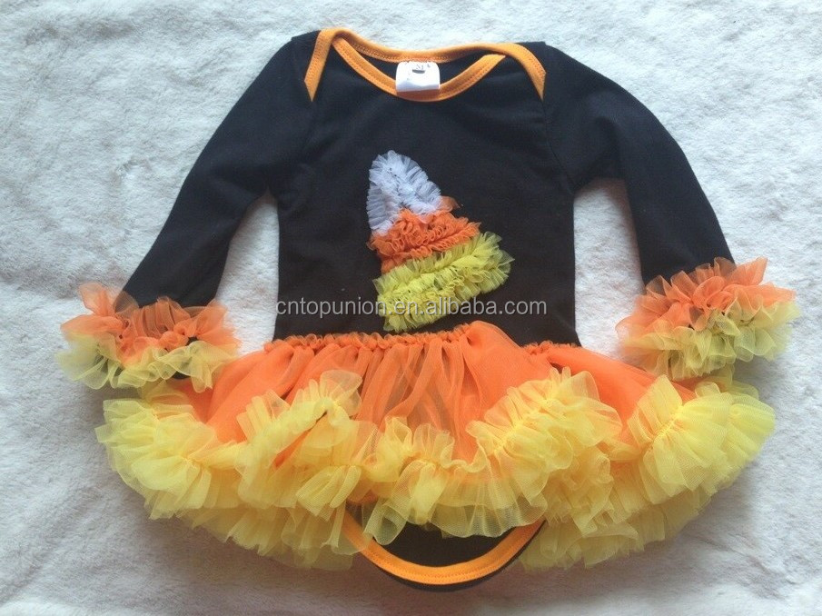 baby girls halloween outfits kids pumpkin outfits ningbo baby kids wear firm Halloween boutique outfits girls halloween sets