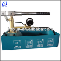 haobao ZD-50 Pipeline Manual Hydraulic Pressure Testing Pump Bench