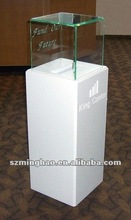 exquisite floor standing Acrylic ballot/suggestion/donation box