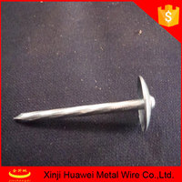galvanized umbrella head roofing nails suppliers in China