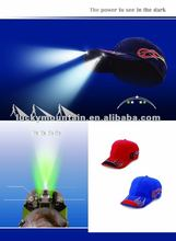 led light baseball cap perfect for running,camping, hunting and fishing