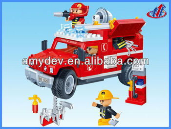 Fire-fighting toys set 2420pcs building blocks set