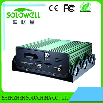 Factory direct 4ch 3g dvr vehicle