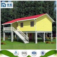 Low cost Light steel prefabricated a frame homes