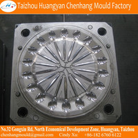 Plastic mould for knife handle