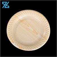Factory price food grade round shaped custom disposable biscuit plastic tray