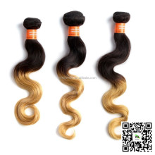 6A Grade Euramercian Design Human Hair 16 INCH 10PCS/BOX Colored Brazilian Human Hair Welf 100% Virgin Extension Hair