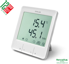 Accurate Digital Thermometer Hygrometer IP50 ABS+PC Flame-retardant Housing Smart Thermohygrometer