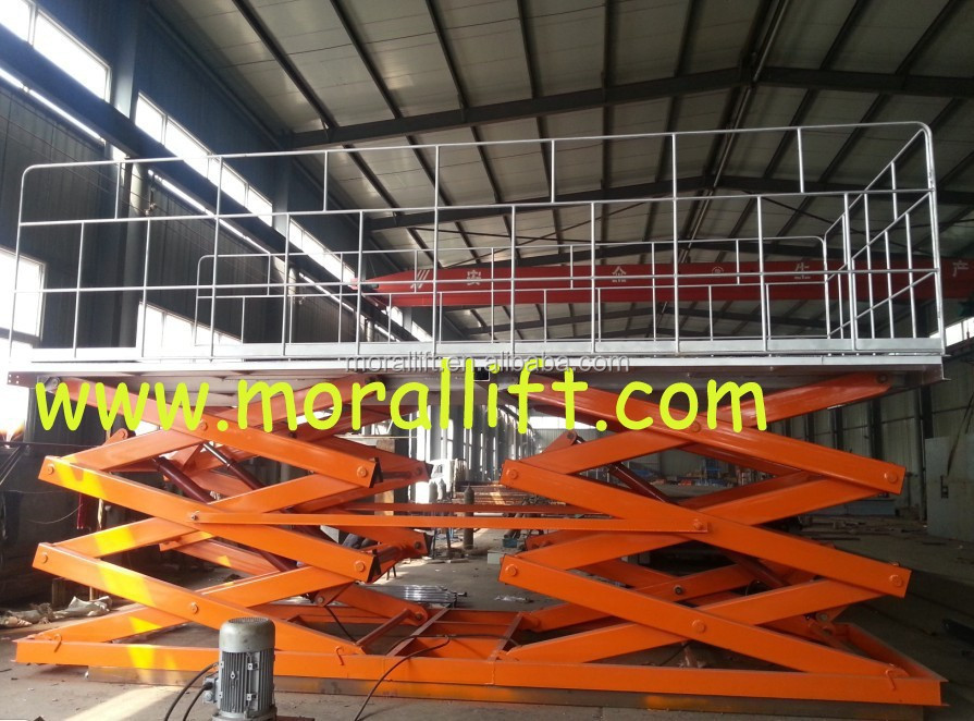 air hydraulic motorcycle lift table/scissor car lift