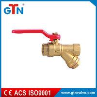 High quality valves water aluminum handle brass plumbing materials cheap ART208V-A 1/2