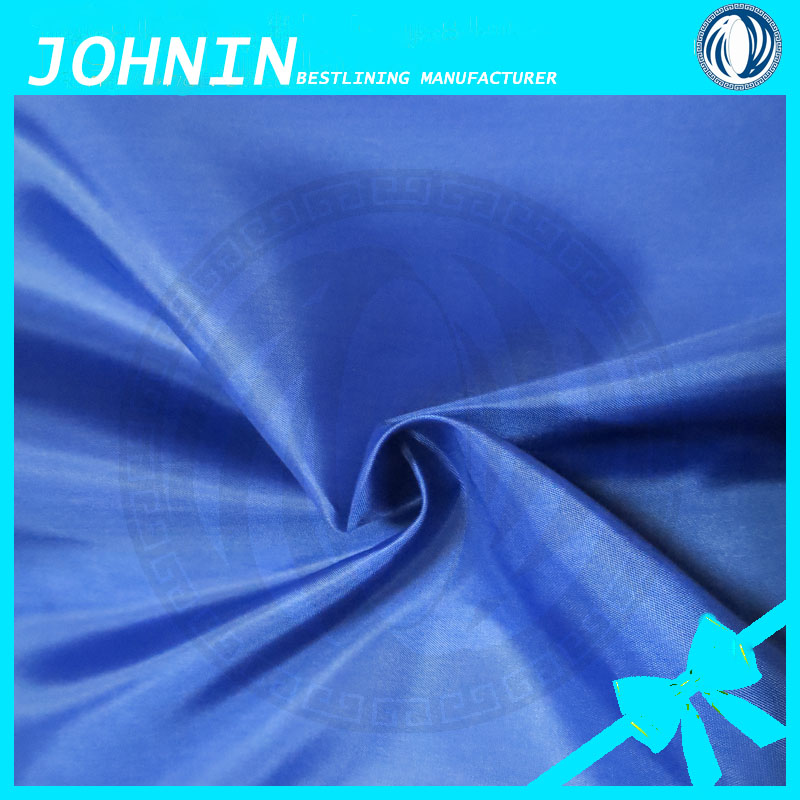 Cheap polyester taffeta lining fabric different types dress materials