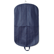 Foldable leather mens suit cover/ garment bag