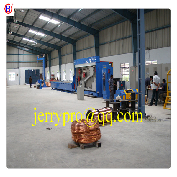 13DT RBD (1.2-4.0)450 copper rod breakdown drawing machine cable making equipment electric wire cable making machine