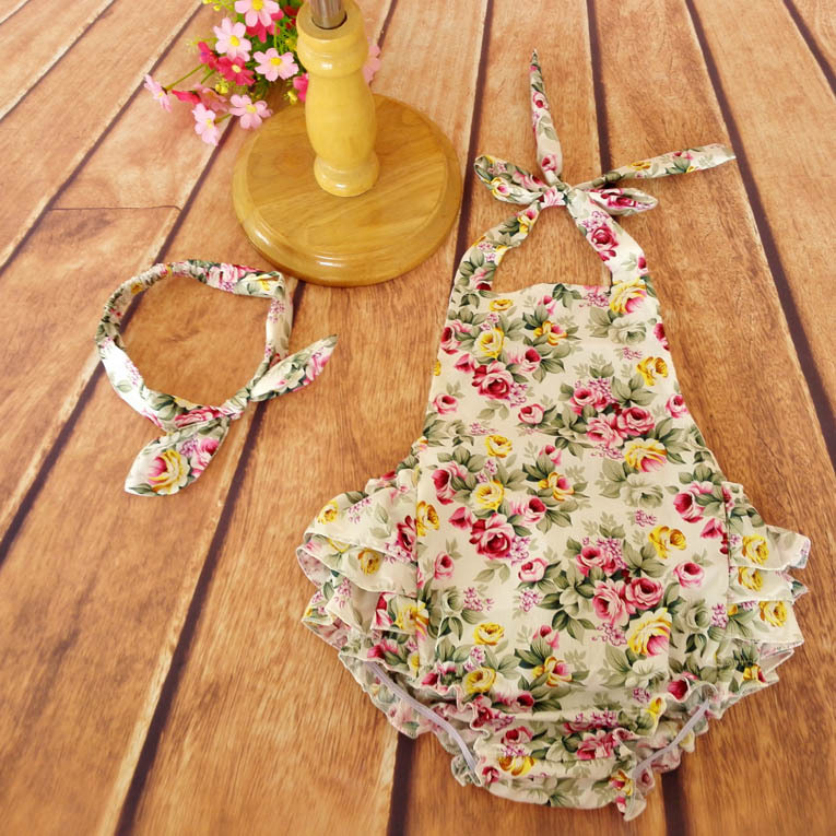 Wholesale Toddler Baby Dresses Summer Romper Clothing