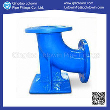 Customized Ductile Iron 90 Deg Double Flanged Duckfoot Bend Fusion Bonded Epoxy Coating with Bottom Price