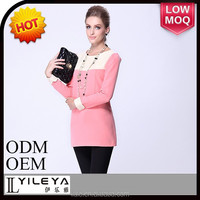 stock items lace neck style hot pink dress long sleeves latest dress patterns ladies