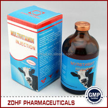 Veterinary medicine vitamin ad3e injection multivitamin injection for cattle use