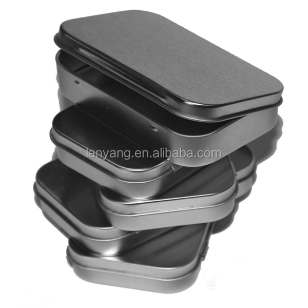 Wholesale Blank Altoids Type Metal Tin Box, Survival Kit Container
