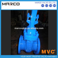 High quality iron or steel body material above 2 inch 4 inch 6 inch stem gate valves with prices