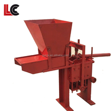 Licheng low cost hand press brick making machine/contruction wall brick block making machine