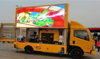 High Brightness 8mm pitch Truck Mobile LED Advertising Billboard Display with Good Price