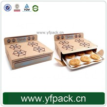 Quality Custom Logo Cookie Box with Grease-Proof Paper insert