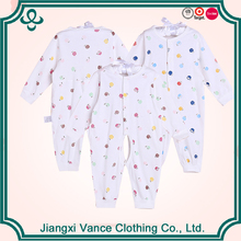 Wholesale Babies Products Soft Cotton Newborn Baby Long Sleeve Long Leg Romper