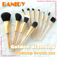 2017 Private Label ODM OEM New Glitter Makeup Brush Crystal Cosmetic Brush