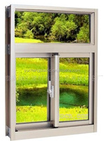 pvc/upvc profile PVC Window 80 Integrated Sliding Window PVC Profile