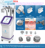New Arrival shock wave RSWT body shaping multipolar rf slimming machine