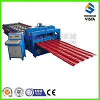 highend glazed tile making machine manufacturer, automatic glazed lacquering forming machine