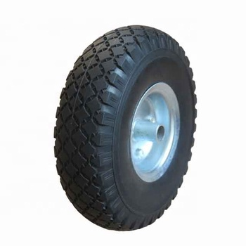 3.00-4 Power Wheelchair PU Foam Wheel/Tire And Rim