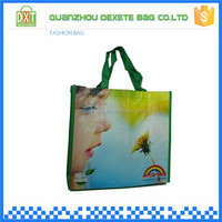 New products pp woven custom europe tote shopping bags