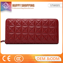 New wallets leather woman for 2017 lady