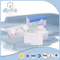 Medical soft absorbent facial cotton pad holder