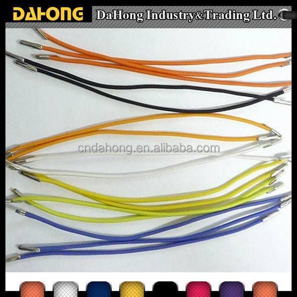 Various Colors Elastic Cord With Metal Bar End For Sale