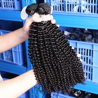 Aliexpress hair brazilian kinky curly virgin hair curly weave human hair 8-30inch No Shedding No Tangle,Free Shipping