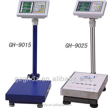 folding electronic balance platform scale price computing scale with CE certification
