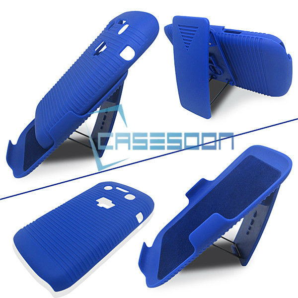 Hard Holster Case Combo CaseWith Stand for BlackBerry Curve 9790 Holster Clip Belt Combo Case