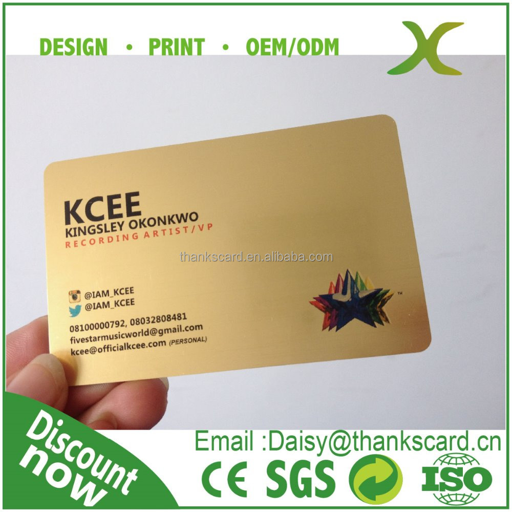 Metallic Plastic Business Cards, Metallic Plastic Business Cards ...