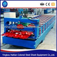 Zinc Galvanized Corrugating Roof Profile Machine/galvanized roof panel roll forming machine