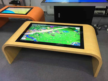 Smart pc interactive multi touch table tv with core i7 processor
