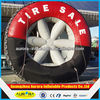 2015 Custom Advertising Inflatable Tire Balloon for decoration