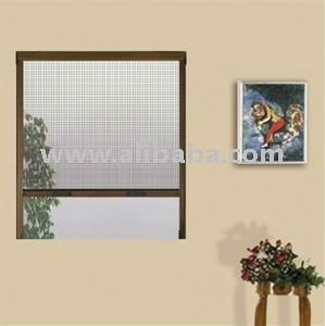 Mosquito fly roll up screen for windows buy roll up for Roll up window screen